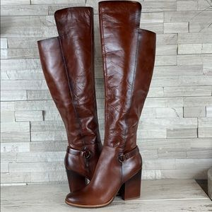 Kork-Ease Pavan Over the Knee Boot NWOB 8.5 Cognac